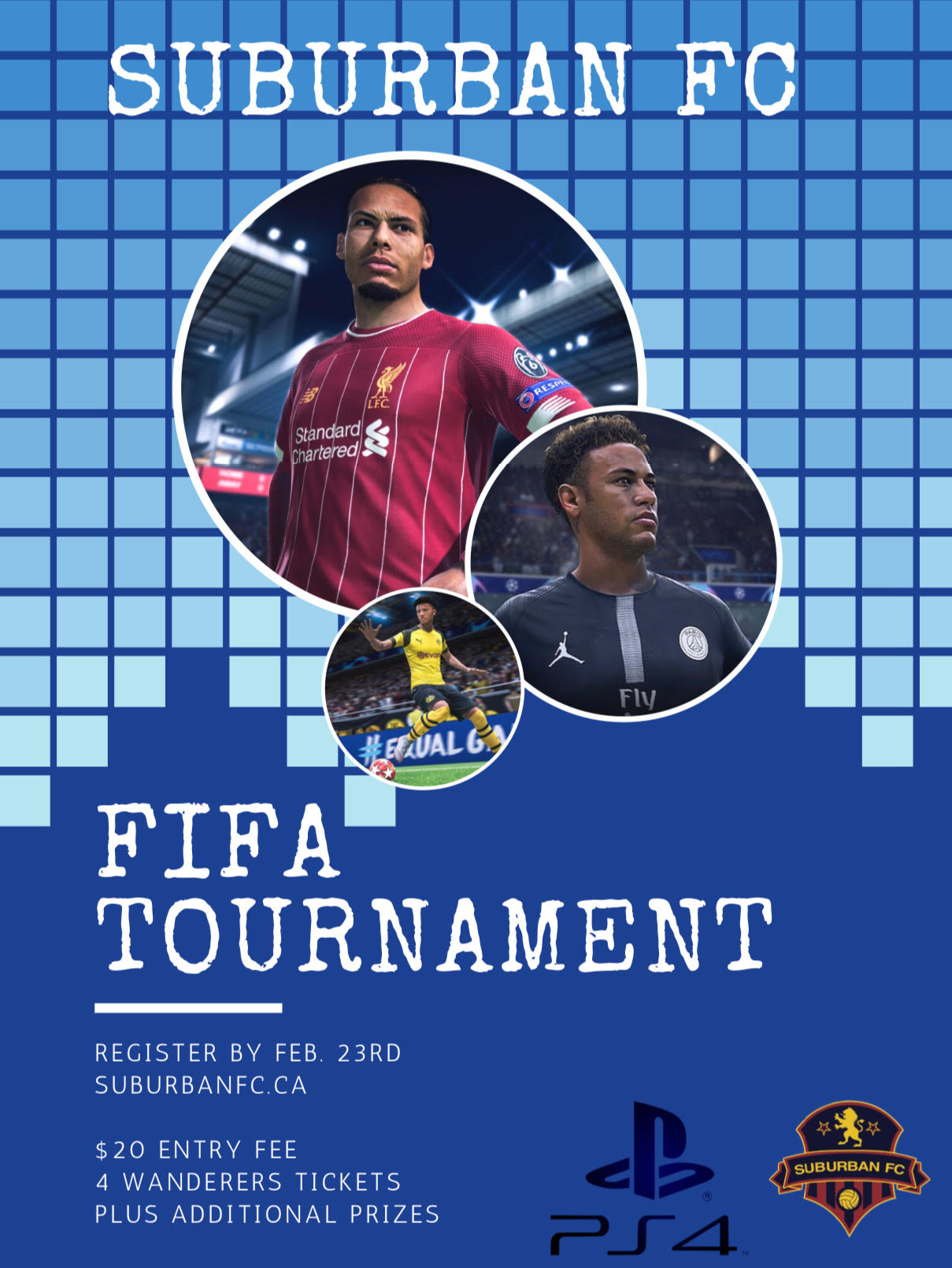 March Madness FIFA PS4 Tournament